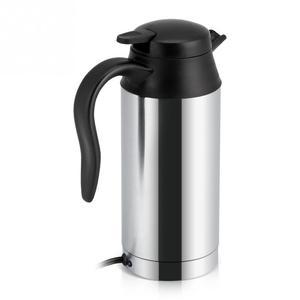 Image 5 - 12V 750ml כלי רכב מכונית קומקום חשמלי סיר נירוסטה קפה ספל עם מצית אוטומטי אביזרי קפה קומקום