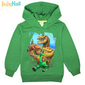 "Jiuhehall Spring Autumn Baby Boys Girls ""Dinosaur"" Printing Sweatshirts Children Clothes Kids Long Sleeve Hoodie FCM018"