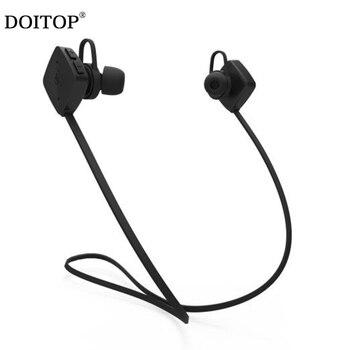 9f295eaf856 Auriculares deportivos DOITOP auriculares inalámbricos Bluetooth con  micrófono para correr auriculares estéreo soporte BT Play llamadas manos  libres