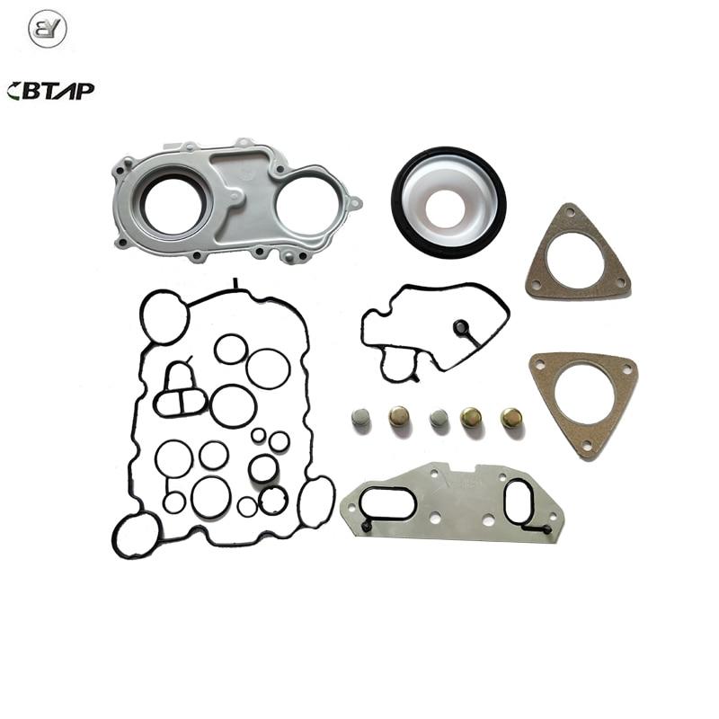 BTAP Rear Engine Cylinder Head Gasket Repair Kit For AUDI A6 2.4 06E117070D 06E103153E 06E198717
