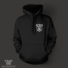Pirate ship design men unisex pullover hoodie hoody heavy hooded sweatershirt 800g organic cotton fleece inside Free Shipping