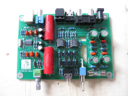 Assemblé PCM2704 USB Lehmann DAC carte casque fonction avec
