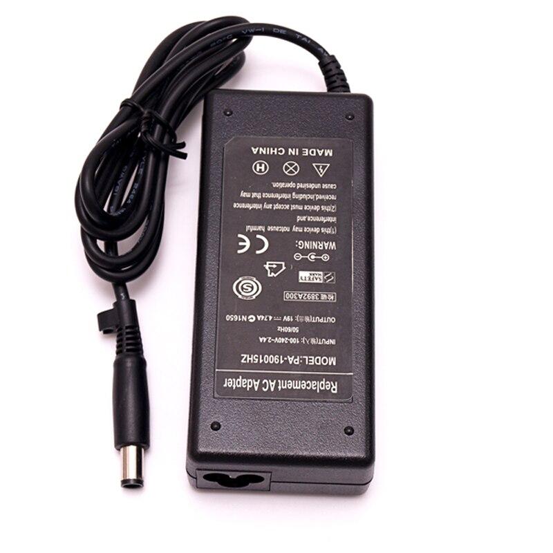 Notebook 19 V 4.74A 7.4*5.0mm adaptador AC cargador portátil fuente de alimentación para HP Pavilion DV3 DV4 DV5 DV6 carga adaptador