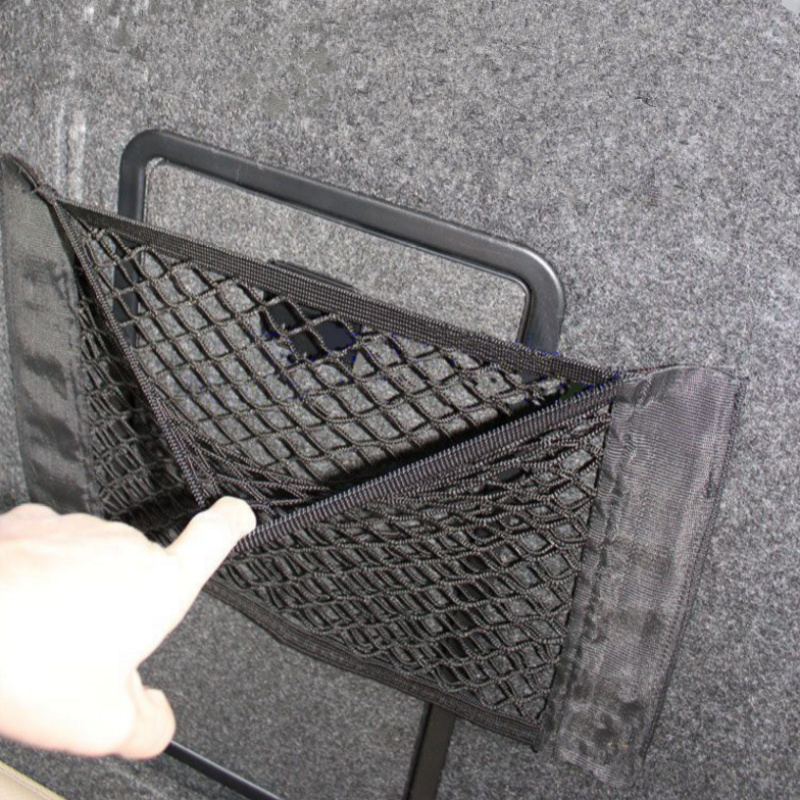 Car Trunk Nylon Rope Net/luggage net with backing For Audi A1 A2 A3 A4 A5 A6 A7 A8 Q2 Q3 ...