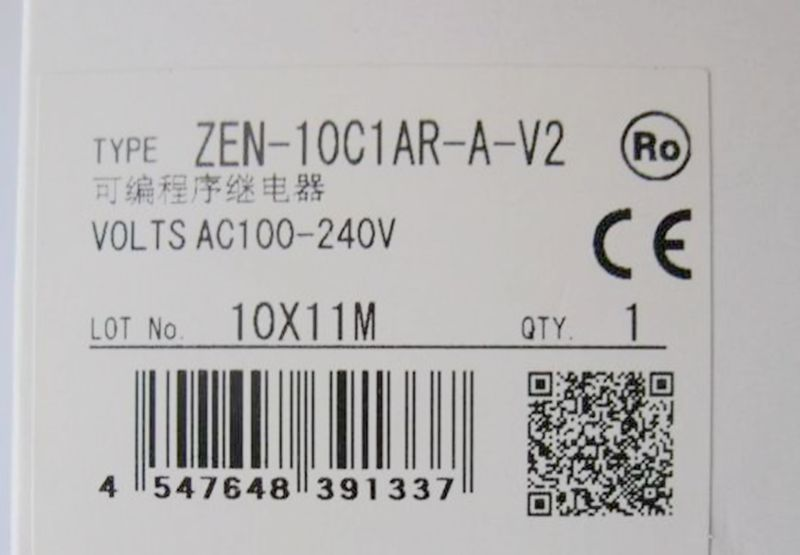 New in box PLC for ZEN-20C1DR-D-V2 ZEN20C1DRDV2 nx7 28adr plc very new looking and in good condition