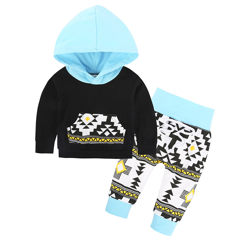 12 style Autumn Infant Clothes Baby Clothing Sets Newborn Baby Boy Girl Clothes Hooded Tops+Long Pants Leggings 2pcs Outfits Set