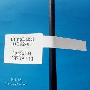 Image 3 - 300 개/몫, 84x26mm 네트워크 케이블 라벨 스티커, 방수, 눈물 방지, 쓰기 또는 인쇄, 항목 번호 ht02