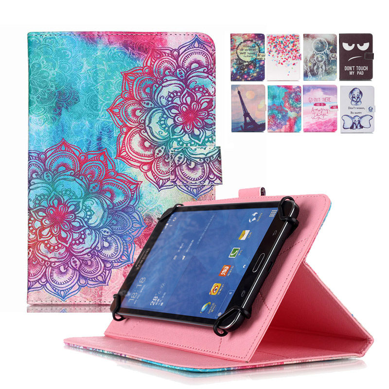 universal case for 10 inch tablet Print PU Leather Case Cover for Oysters T104HMI 3G 10.1 Inch+Center flim+pen KF553C case cover for goclever quantum 1010 lite 10 1 inch universal pu leather for new ipad 9 7 2017 cases center film pen kf492a