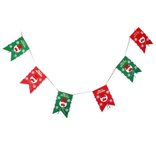winter christmas snowman merry christmas garland bunting banner christmas party decoration party photo prop booth