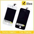 20 pçs/lote lcd screen display touch com digitador peças de substituição para iphone 4s gsm cdma, frete Grátis DHL