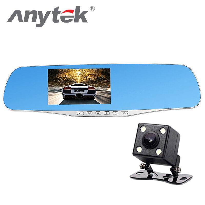 Anytek Tachograph Car DVR 96650 Car Camera 1080P HD WDR Parking Monitor Night Vision Cycle Recording Video Recorder anytek car dvr a100 novatek 96650 car camera ar0330 1080p wdr parking monitor night vision black box