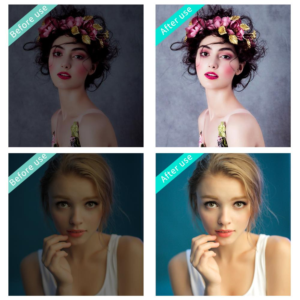 Image 5 - Mobile Phone LED Selfie Ring Light  Portable Circle Photography Clip Light Beauty Fill Lamp for Cell Phone Camera Rechargeable-in Novelty Lighting from Lights & Lighting