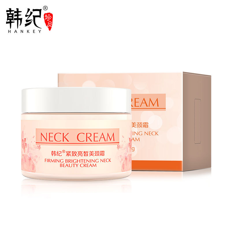 Hankey Six Peptides Neck Cream Anti Wrinkle Remove Neck Mask Whitening Firming for Neck Skin Care Delicate and Slippery in Neck from Beauty Health