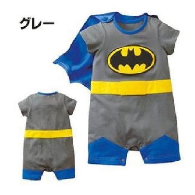 Batman Rompers Shortalls para meninos roupas de Bebê roupas de bebe menino bebes jumpsuit infantil traje do bebê