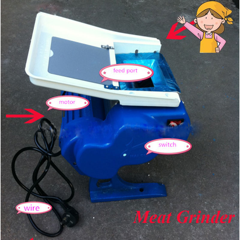 Electric Meat Slicing Machine Meat Grinder for Sale Home Use Production: 50 Kg/hour HO - 70.