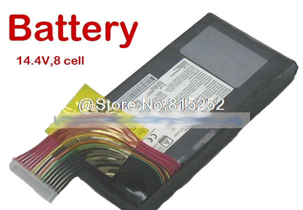 Laptop Battery For MSI GT80 BTY-L78 GT73VR GT83VR 6RF-026CN,2QE-035CN VR 6RE-013CN S5 67SH1 S 14.4V 8 Cell New and Original