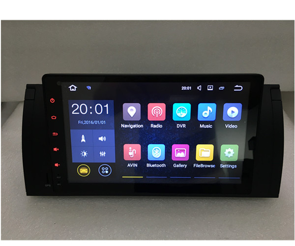 COOL AAA Car Radio DVD Navigatio Android Full Touch For BM W E39 E53 X5 M5 Bluetooth
