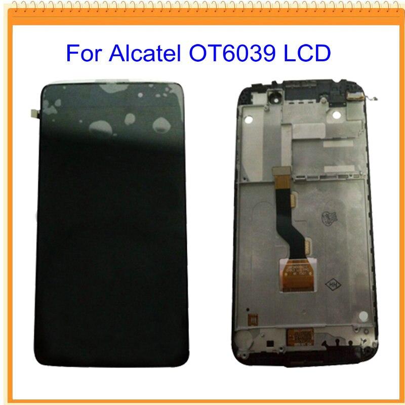 For Alcatel one touch idol 3 OT6039 6039 font b LCD b font Screen font b