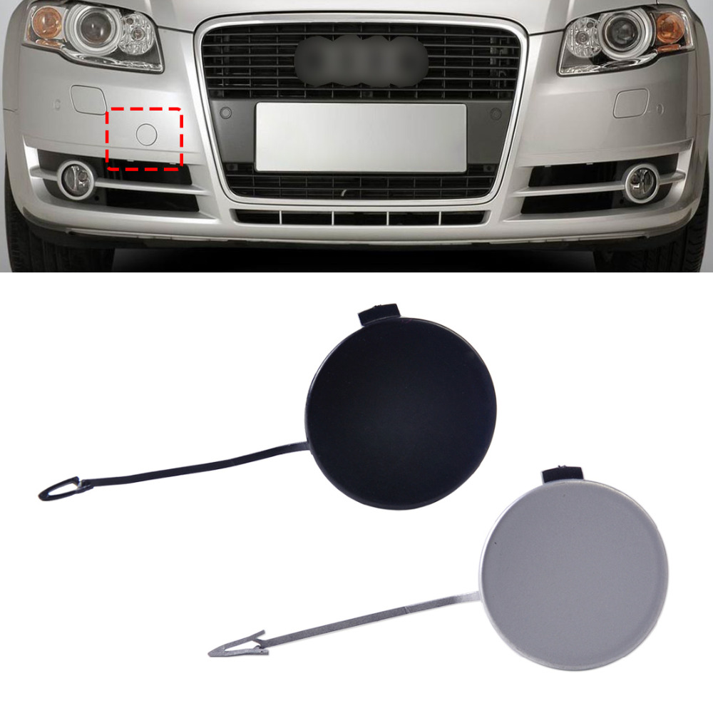 1pc new front bumper eye cover tow hook cap for audi audi a4 quattro s4 b7