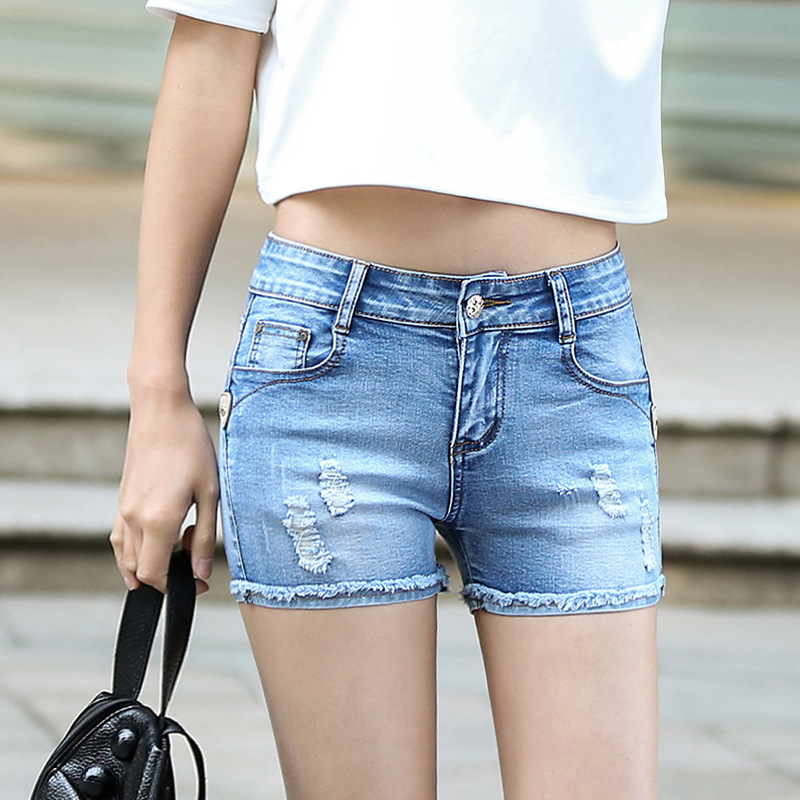 Online Get Cheap Plus Size Jean Shorts Stretch -Aliexpress.com ...