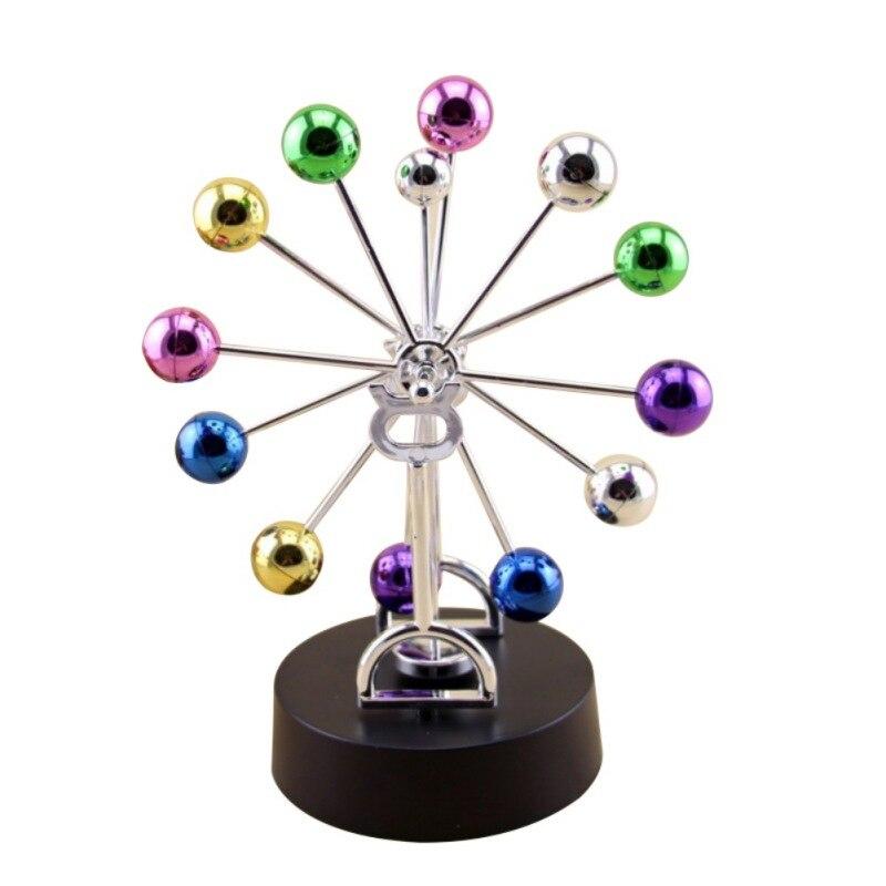 Dekoration Kunsthandwerk Milchstraße Himmelskörper Kinetische Bewegung Orbital Elektrischer Wiggler Newton Schaukel Ball Schreibtisch Spielzeug