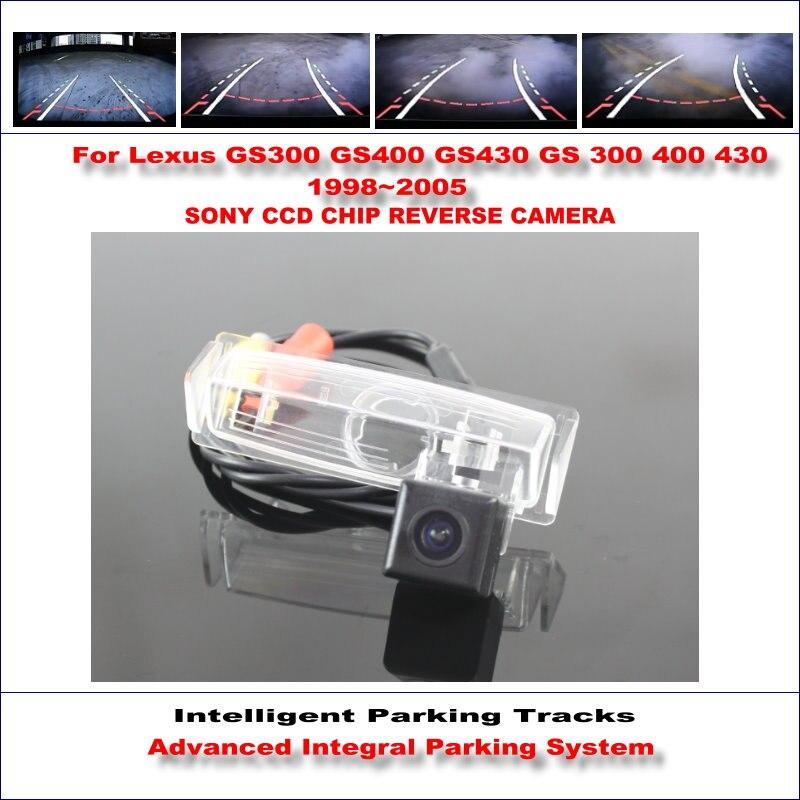 Высокое качество 3089 чип интеллектуальная задняя камера для Lexus GS300 GS400 GS430 1998 ~ 2005 NTSC PAL RCA AUX HD SONY CCD ТВ линии