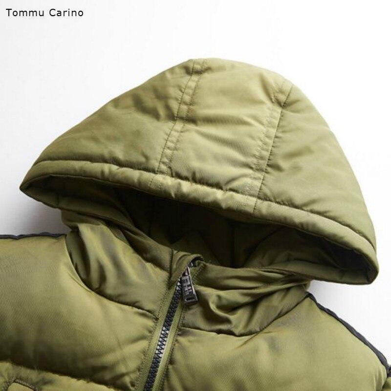 3934ccd5811c Brand Fashion Boys Children Hooded Snow Wear Winter Coat Cotton ...