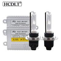 HCDLT AC 35W Cnlight HID Conversion Kit Xenon H1 H7 H11 9005 9006 D2H Cnlight Xenon Bulb 4300K 5000K 6000K 35W F3 Slim Ballast
