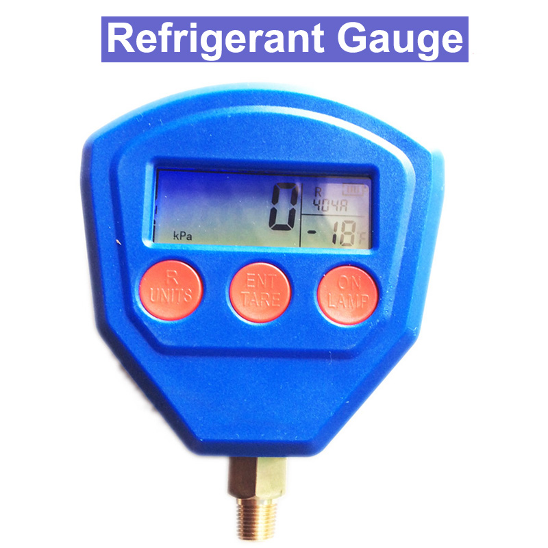 SP Digital Refrigerant Pressure Gauge/Vacuum Air conditioning refrigerant test table by dhl 1pc digital manifold gauge vdg s1 digital refrigerant table pressure gauges dial diameter