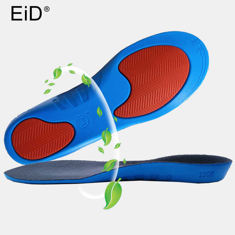 c15eb710d4 ... Unisex PU Athletic Comfort Insoles with Shock Absorption Pads Daily  Wear Work Shoes Inserts Arch Support ...