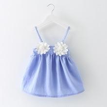 2016 New Summer Baby Dresses Girl Dresses