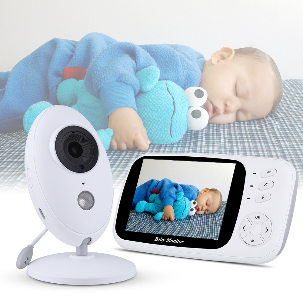 3.5inch Wireless Video Baby Monitor Camera Night vision Baby Sleep Nanny Security Temperature Monitoring LCD Baby Camera3.5inch Wireless Video Baby Monitor Camera Night vision Baby Sleep Nanny Security Temperature Monitoring LCD Baby Camera