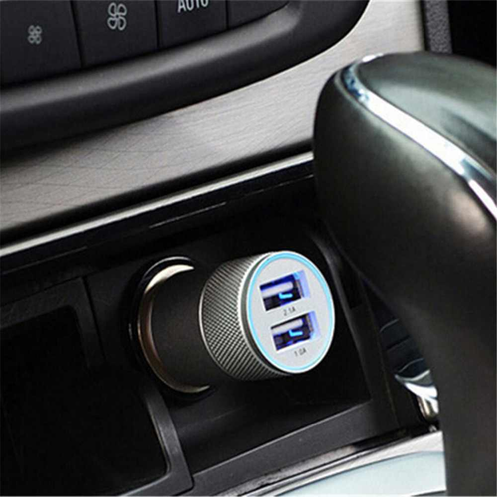 Fast Dual Usb Car Charger 3.1A Car Cigarette Lighter Socket Universal USB Adapter Auto Car-Charger For iphone6 7 Sumsung Xiaomi