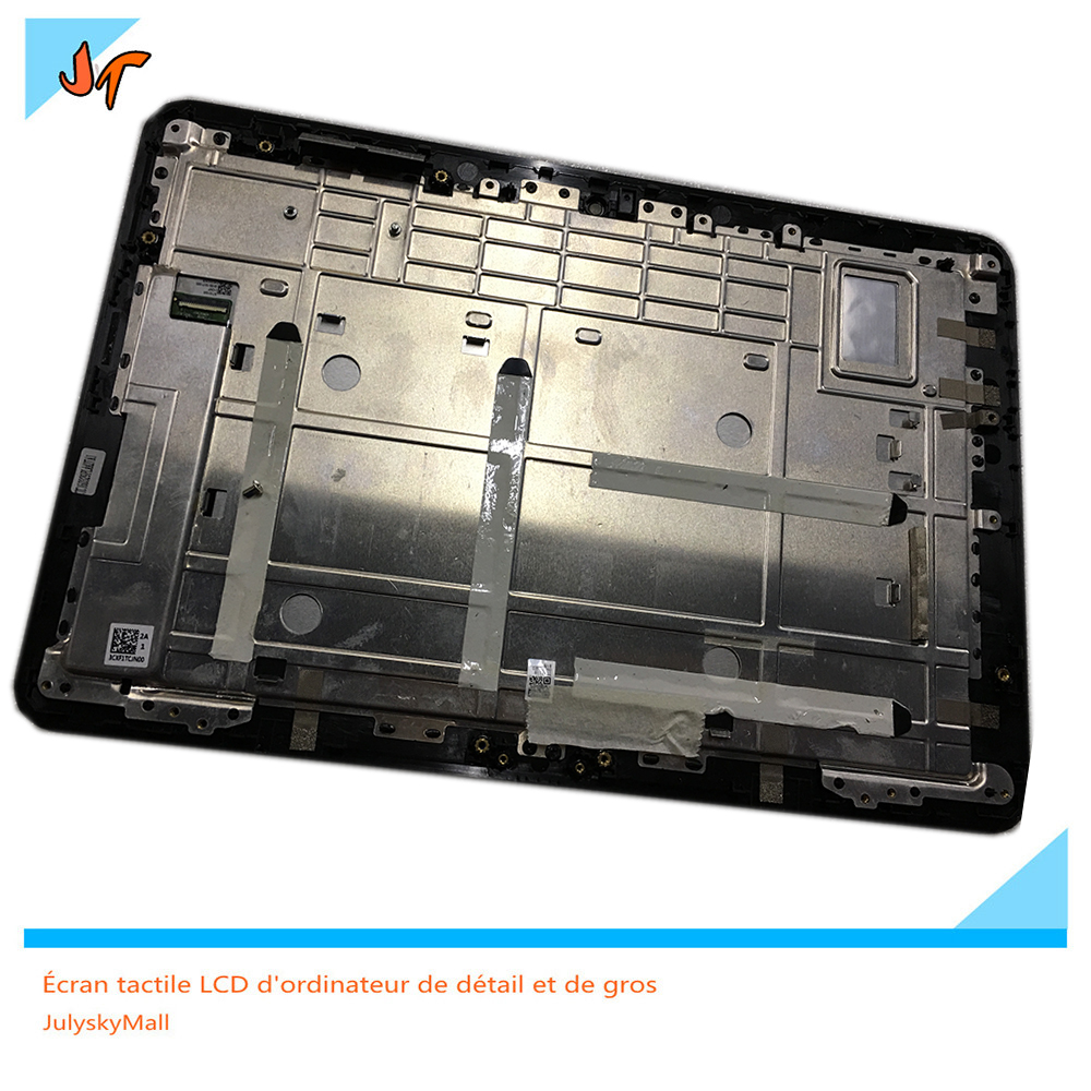 For Asus variants T101HA LCD full screen display + touch screen digitizer + frame border replacement T101
