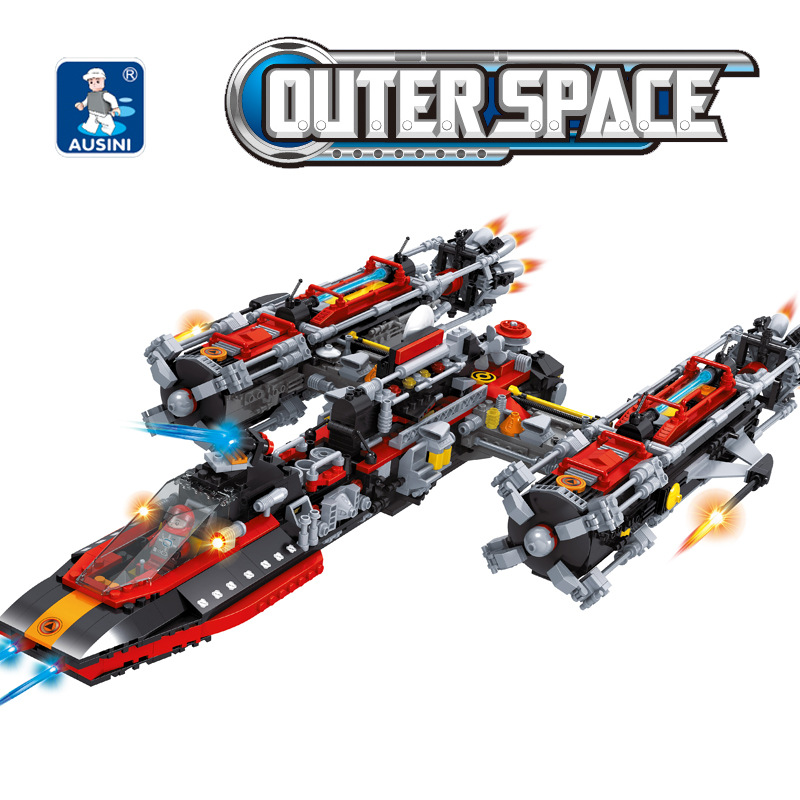 A Models Building toy Compatible with Lego A25114 1758pcs Spacecraft Blocks Toys Hobbies For Boys Girls Model Building Kits a models building toy compatible with lego a25590 251pcs football series blocks toys hobbies for boys girls model building kits