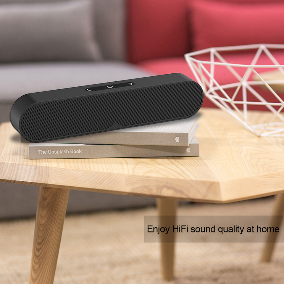 Wireless Bluetooth Speakers Portable Speaker Outdoor Loudspeaker Dual 5W Bass Stereo Hi Fi Sound with Mic 2