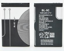 BL-5c полную мощность 1020 мАч 3.7 В литиевая батарея карты колонки навигации небольшой стерео радио телефон клетки