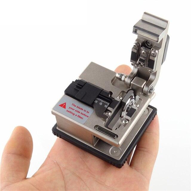 Po работники Волоконно-Оптический Кливер FB-1688 холодной один точность резки нож FTTH волокна холодной обжимной инструмент Бесплатная доставка