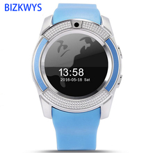 Full Round Electronic Smart Watch Q7 Smart Monitor SleepTracker Wearable Devices for Androld phone Round high-definition screen