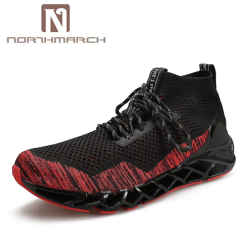 NORTHMARCH Brand Sneakers Breathable Mesh Men Casual Shoes New 2017 Fashion Men Shoes Spring Summer Moccasins Men Footwear northmarch brand new shoes men casual sneakers men fashion breathable designer shoes lace up flats man shoes zapatillas hombre