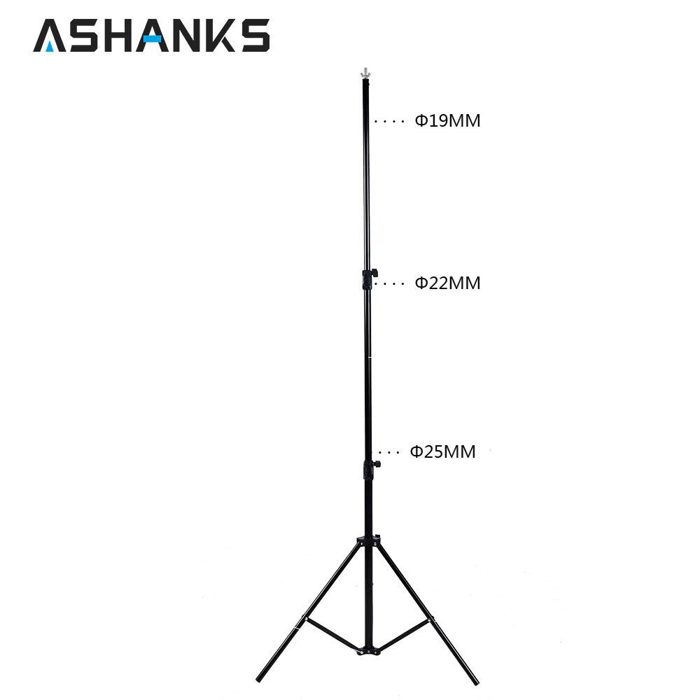 ASHANKS 2.6 M X 3 M/8.5 * 10ft Pro photographie arrière-plan Photo Support système signifie Studio Photo vidéo + sac de transport - 2