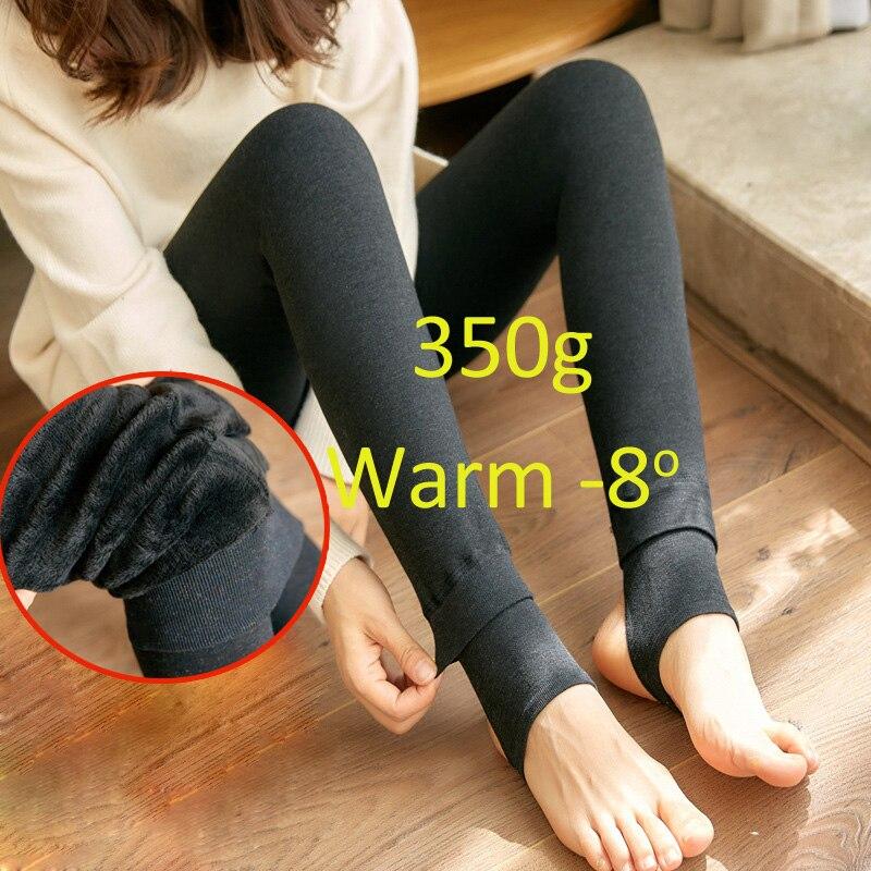 Comprar 2018 Leggings Quentes para As Mulheres de Algodão Leite Magro  Leggings Cashmere Único Desgaste Do Pé Elástico Calças Legging Feminina  Inverno ... e815efe8234c5