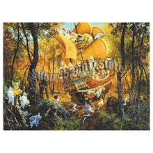 Forest & Jungle 5D Diy Diamond Painting Cross Stitch Embroidery Fall Fairy Nymph Pattern Hobbies Crafts Mosaic Kits