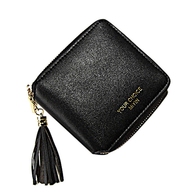 2e17e4358b4ee Nowy Patent skórzane damskie krótkie portfele mały portfel na zamek  przestronne portmonetka kobiet portfel na karty