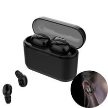 цена на TWS Wireless earphones True Wireless Stereo Earbuds HiFi Deep Bass Sound For smart phone Bluetooth 5.0 Earphones Sports Earbuds