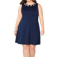 큰 크기 드레스 사무실 여성 플러스 사이즈 캐주얼 느슨한 여름 드레스 레드 패션 드레스 Vestidos 여성 옷 진짜 그림