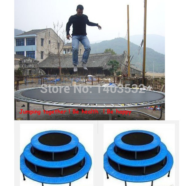 PP Material Trampoline  accessories fabric 100% polypropylene safety Jumping Bed  Bounding Bed Fabric Color Black  цена и фото