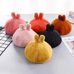 Милые плюшевые детские милые мягкие уха берет для фотосессий Косплей игрушка плюшевая игрушка в шапке Рождество Хэллоуин платье для дня