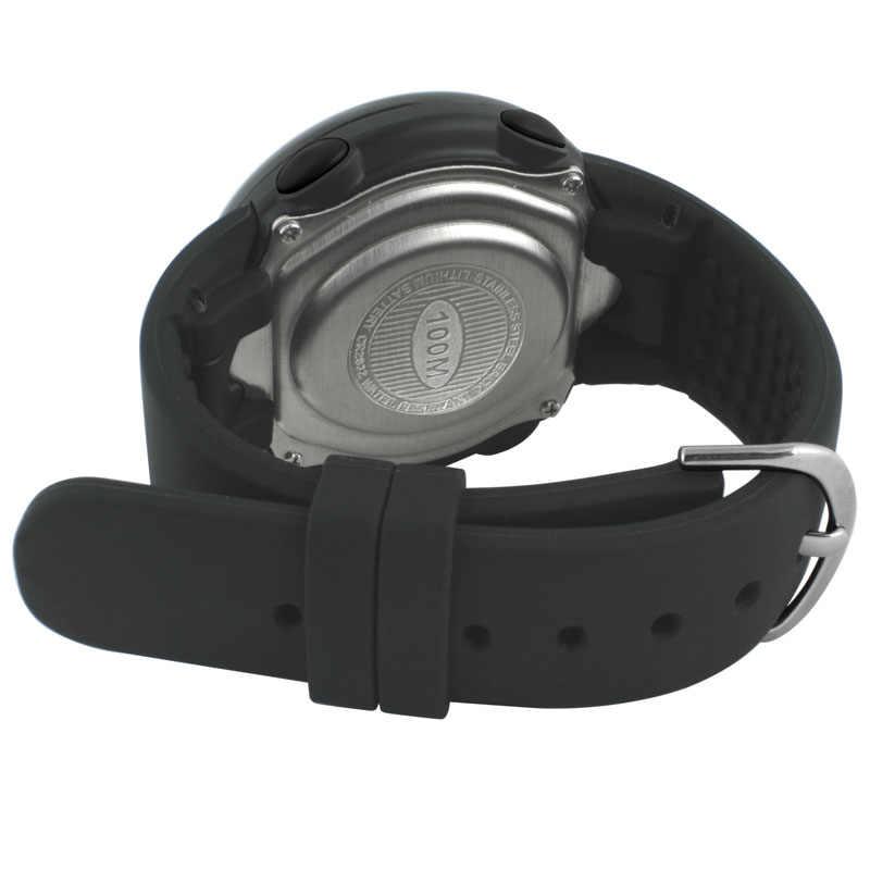 حزام ساعة من مادة راتينج البولي يوريثان والسيليكون عالي الجودة باللون الأسود لهاتف XONIX GJ