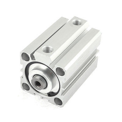77mm Long Metal Double Action Single Rod Air Cylinder SDA40x45